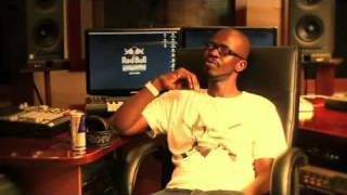 Black Coffee at The Red Bull Studios in Cape Town