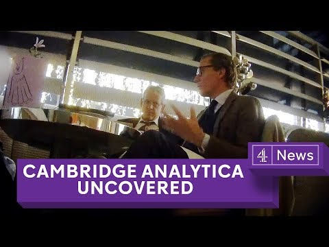 Xxx Mp4 Cambridge Analytica Uncovered Secret Filming Reveals Election Tricks 3gp Sex