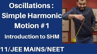 Class 11 chap 14 || Oscillations 01 || SHM 01 : Introduction and Condition for SHM JEE MAINS/NEET