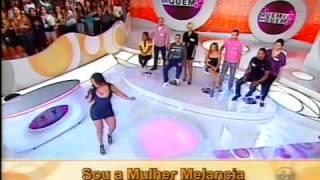 Andressa Soares Mulher Melancia   Velocidade 6 Programa Eliana   YouTube