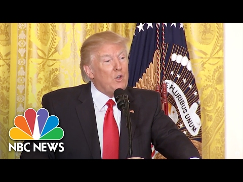 Best Moments From Donald Trump's Press Conference Russia CBC Not Good NBC News