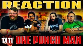 One Punch Man 1x11 REACTION!!