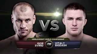 FULL FIGHT: ONE Middleweight World Championship Igor Svirid vs. Vitaly Bigdash (HD)