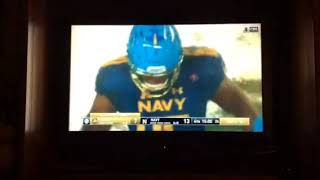 Army Vs Navy The Start Of The 4th Quarter Army Missed FG Down By 6!!!