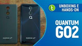 Quantum GO2: unboxing e primeiras impressões   TudoCelular.com