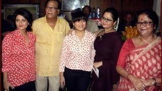 Swastika Mukherjee Family   স্বস্তিকা মুখার্জীর পরিবার   Swastika Mukherjee with her Real Family