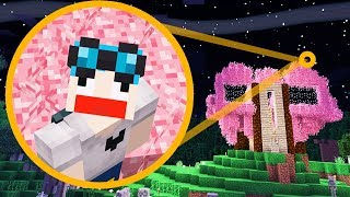 MY PINK MINECRAFT TREEHOUSE!!! [#10]