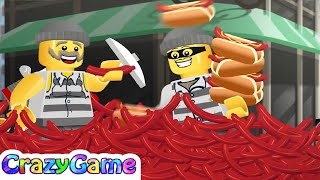 LEGO City Movie Mixer Mashup Funniest Moment - LEGO Mini Movie Cartoon for Children & Kids