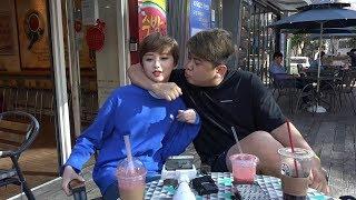 170829 [1] 믿고 보는 케미 최군&고말숙 강남 야외 꿀잼토크! - KoonTV
