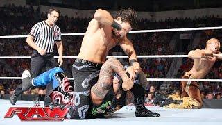 The Usos vs. Breezango: Raw, May 30, 2016