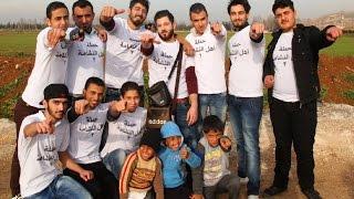 فيديو لـ اسماعيل تمر تسليم حملة || أهل النشامة 2 || إلى مخيمات اللآجئين السوريين في لبنان 2015