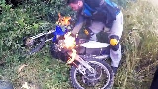 Crazy & Hectic Dirtbike Crashes & Fails 2017