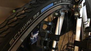 Schwalbe Marathon Plus Tour Tires on Trek FX3