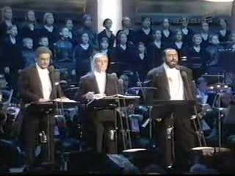 Pavarotti Domingo Carreras - Happy ChristmasWar Is Over
