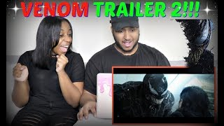 """VENOM"" Official Trailer 2 REACTION!!!"