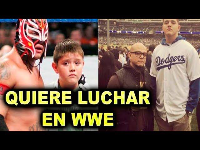 HIJO DE REY MYSTERIO QUIERE SER LUCHADOR DE WWE