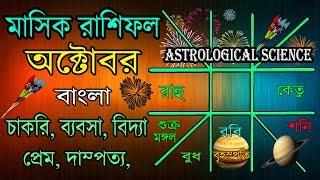 October 2017 Monthly Horoscope in Bengali|Masik Rashifal October 2017|অক্টোবর 2017 মাসিক জন্মপত্রিকা