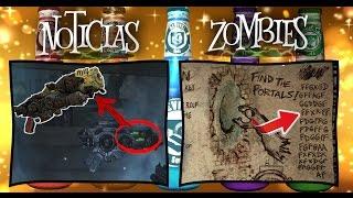 Codigo de MOTD casi Resuelto y KABOOM Azul | Noticias Zombies