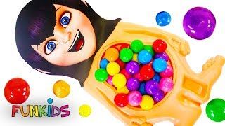 Mavis Hotel Transylvania 3 Slime & Gumball Belly Toys feat. Incredibles 2 Violet