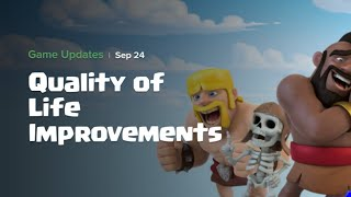 "#Allinoneinsane update 2018 september 24 (quality of life improvement)  ""coc"""