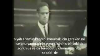 Malcolm X Oxford Union Debate TÜRKÇE ALTYAZI ALTYAZILI