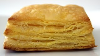 Puff Pastry Recipe / باف بيستري