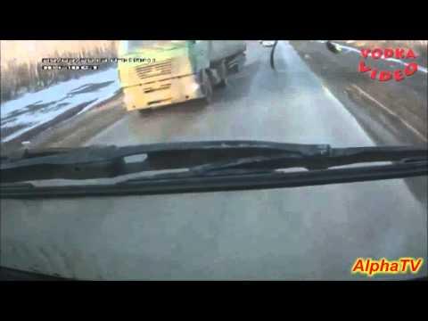 Najgroźniejsze wypadki samochodowe Rosja kompilacja 2013 HD