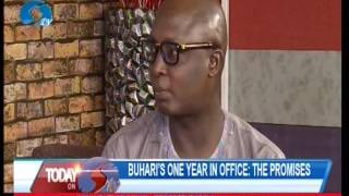 Buhari's One Year In Office; The Promises