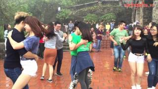 Bachata Street Dance - SPRING SALSA TEAM (Hanoi, Vietnam)