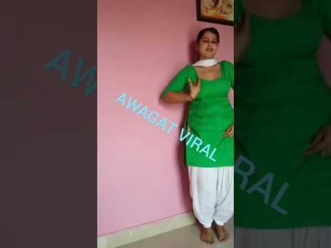 Patt Lainge desi hot Punjabi girl att Dance