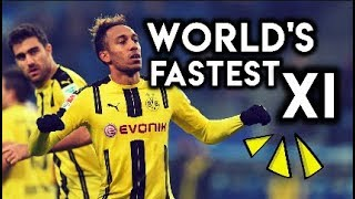 Fastest XI in the WORLD - According to Football Manager 2018