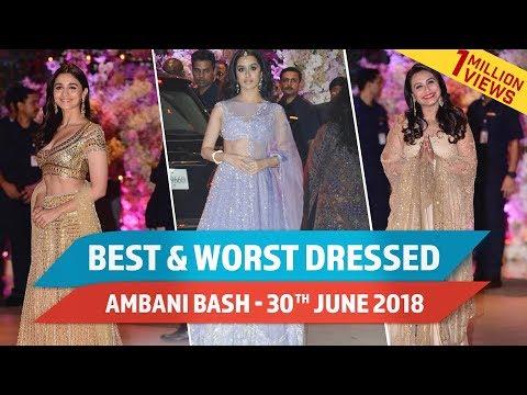 Xxx Mp4 Aishwarya Rai Bachchan Alia Bhatt Ranbir Kapoor Best And Worst Dressed At Ambani Bash June 30 3gp Sex