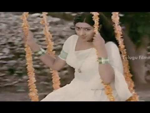 Sirimalle Puvva Song - Sridevi's Padaharella Vayasu Movie Songs - Mohan Babu, Chandra Mohan