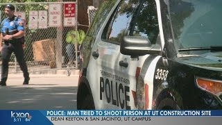 Drive-by shooting reported on UT campus