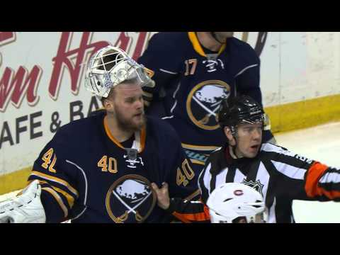 Gotta See It Scrivens Lehner get in staring contest during scrums