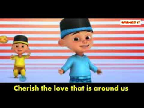 Download Harris j   Salam alaikum Upin Ipin Version with lyrics free