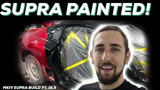 PT.16.5 MKIV Supra Build! | IT'S PAINTED MotionAutoTv STYLE!