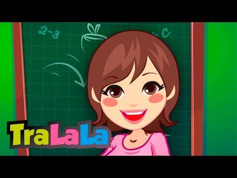 Învățătoarea Cântece de toamnă pentru copii TraLaLa