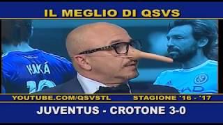 QSVS - I GOL DI JUVENTUS - CROTONE 3-0  TELELOMBARDIA / TOP CALCIO 24
