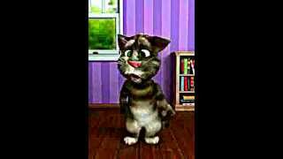 Talking Tom makes gay sounds. lol