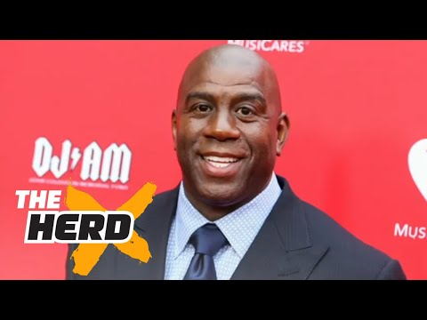 Magic Johnson named Lakers President of Basketball Operations Colin Reacts THE HERD