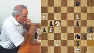 Kasparov Traps Caruana in his Mating Net