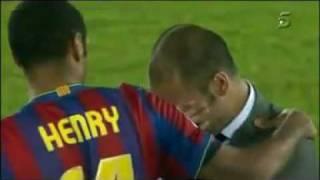 F.C Barcelona 2 - 1 Estudiantes LP - Guardiola llora al hacer Historia