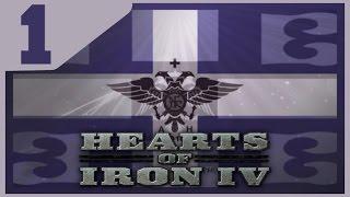 Hearts of Iron IV - Greek Byzantine Restoration #1 - Tanking It [HOI4 Gameplay]