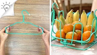 4 IDEAS WITH WIRE HANGERS