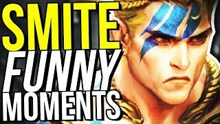 CU CHULAINN IS SPECIAL! - SMITE FUNNY MOMENTS