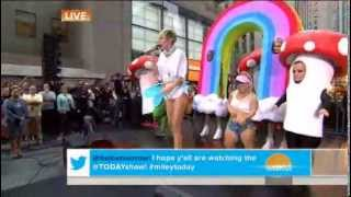 Miley Cyrus - We Can't Stop (Live on Today Show)