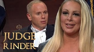 Adult Model Thinks Judge Rinder Watches Babestation! | Judge Rinder
