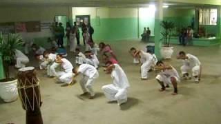 ACRT em Jacobina - Mestre Salomé- Aula de Capoeira Regional
