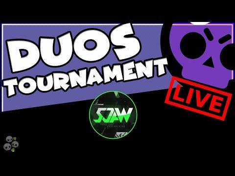 Duo Showdown Tournament LIVE   Lex & Kairos host SOAW eSports Brawl Stars